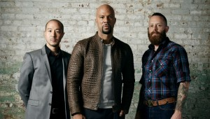 Common (Host), Nolen Niu and Brandon Gore Judges